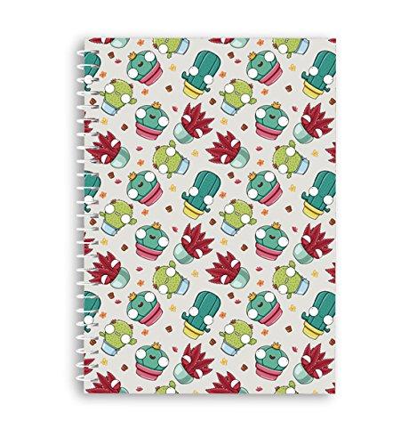 Missborderlike - Cuaderno anillas A4 - Cactus