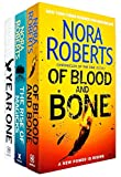 Chronicles of The One Series 3 Books Collection Set By Nora Roberts (Year One, Of Blood and Bone, The Rise of Magicks [Hardcover])
