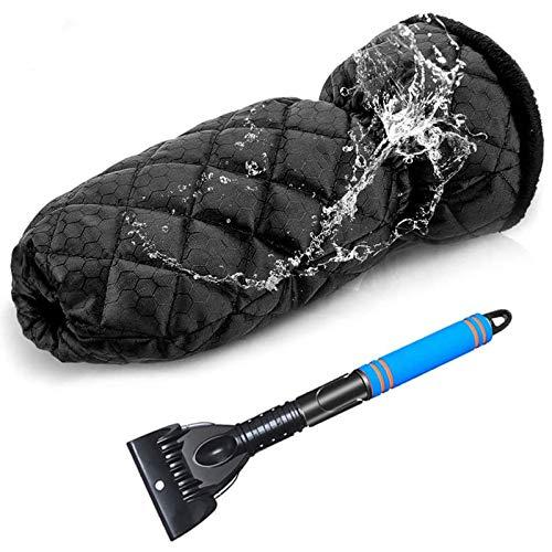 YAOBAO Eiskratzer Mit Handschuh Auto,...