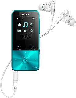 ソニー ウォークマン Sシリーズ 4GB NW-S313 : MP3プレーヤー Bluetooth対応 最大52時間連続再生 イヤホン付属 2017年モデル ブルー NW-S313 L