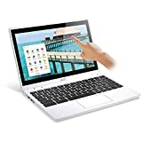 Acer C720P-2457 11.6' Touch Chromebook Laptop Intel Celeron Dual Core 1.4GHz 4GB 32GB SSD - White