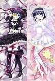 Japan Anime Cyuunibyou Demo Koigashitai Takanashi Rikka Otaku Hugging Body Pillow Case 12146 20'x59'