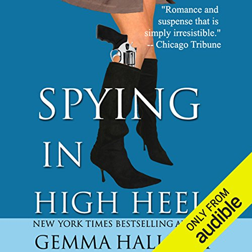 Spying in High Heels audiobook cover art