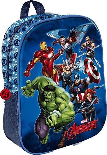 Star Licensing Marvel Avengers Zainetto Medio, 32 cm, Multicolore