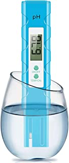 CharmUO Digital PH Meter, PH Meter 0.01 Resolution Pocket Size Water Quality Tester with ATC 0-14 pH Measurement Range for...