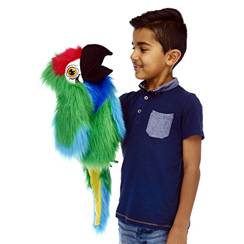 The Puppet Company - Marioneta Mano Guacamayo Militar