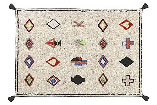 Lorena Canals Naador Lavable Tapis, Coton, Multicolore, 140 x 200 x 30 cm