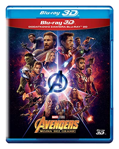 Avengers: Infinity War [Blu-Ray]+[Blu-Ray 3D] [Region Free] (IMPORT) (Nessuna versione italiana)