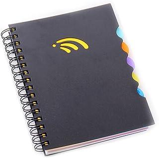 غلاف A4 ملونًا بغطاء جانبي PP نوتباد يوميات دفتر كتابة دفتر رسم دفتر رسم