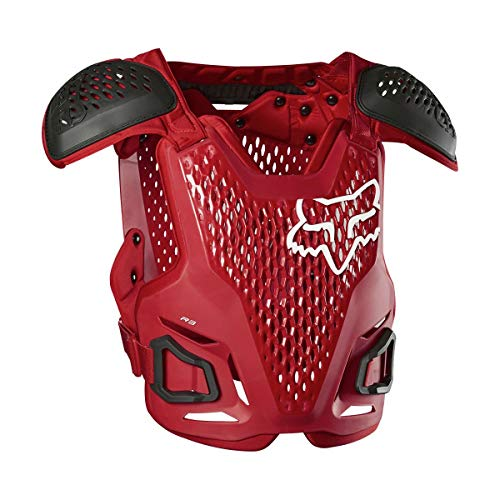 Fox Racing R3 Roost Guard, Flame Red, S/M
