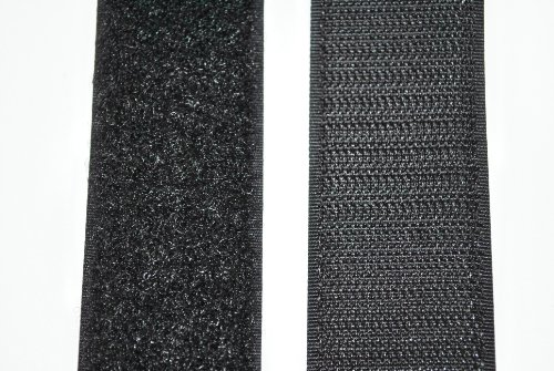 SAN Klettband schwarz 30 mm breit je 1...