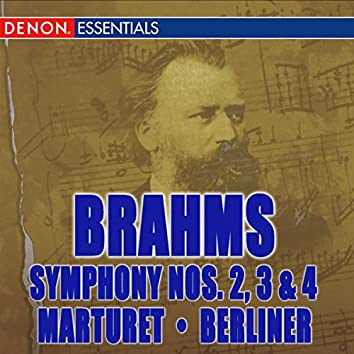 Brahms: Symphonies Nos. 2, 3, & 4