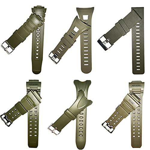 WWXFCA Skmei - Correa para relojes deportivos Skmei 1025 1029 1068 1416 1019 PU para Skmei diferentes modelos de hombres y mujeres (color de la correa: 1267 correa)