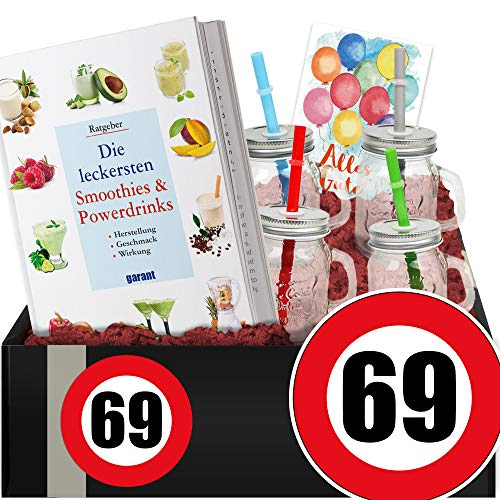 Zahl - 69 - Gesundheit DIY-Set - 69-Geburtstag lustige Geschenke