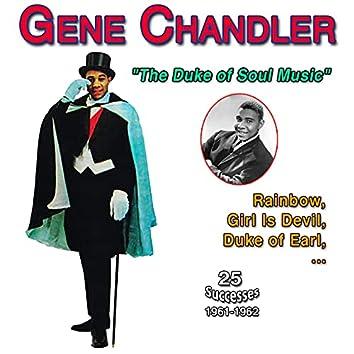 """Gene Chandler - """"The Duke of Soul"""" - Duke of Earl (25 Hits 1961-1962)"""
