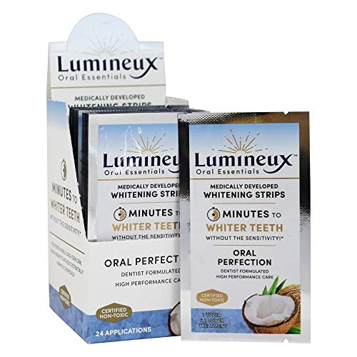 Lumineux, Whitening Strips Oral Perfection, 24 Count