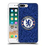Head Case Designs Officially Licensed Chelsea Football Club Home 2019/20 Kit Soft Gel Case Compatible with Apple iPhone 7 Plus/iPhone 8 Plus