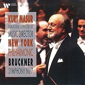 Bruckner: Symphony No. 7 (Live, Avery Fisher Hall, New York, 1991)