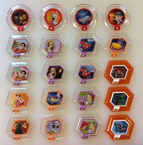 Disney Infinity Power Disc Complete Series 1 Set of 20