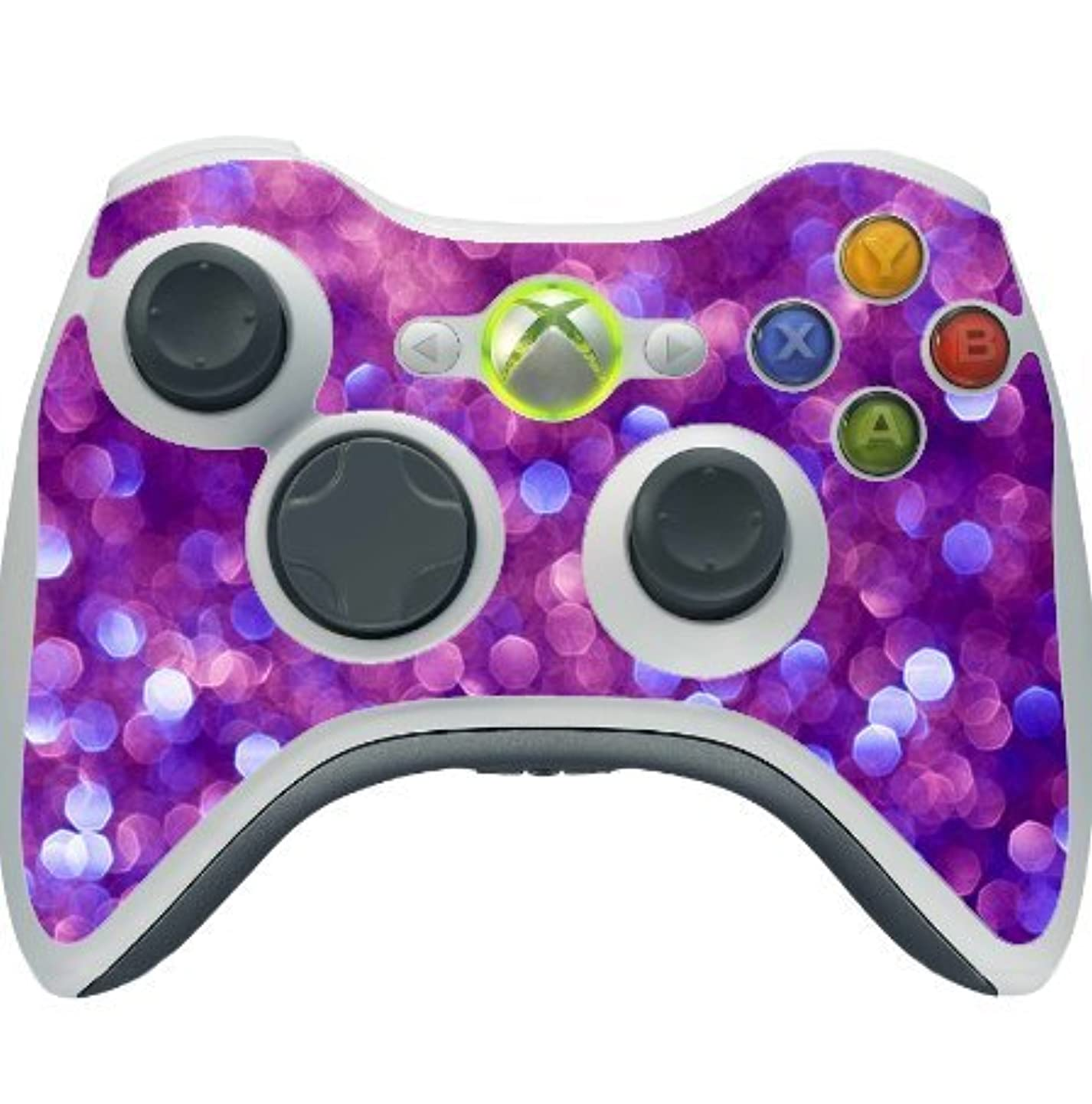Shimmering Purple Xbox 360 Wireless Controller Vinyl Decal Sticker Skin nzqogtlgade6