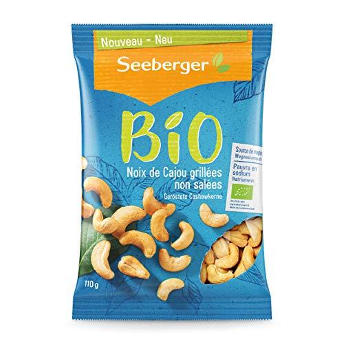 Seeberger Bio Noix de Cajou Grillées Non Salées 1 Unité