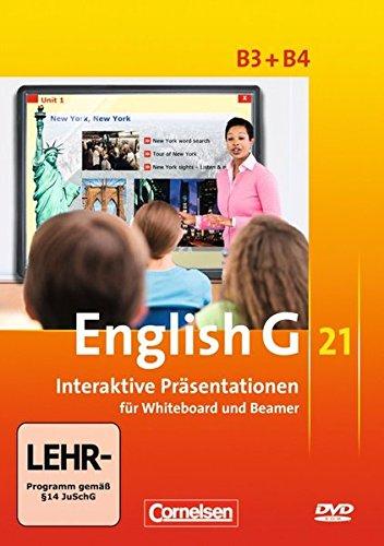 English G 21 - Ausgabe B. Interaktive Präsentationen für Whiteboard und Beamer. Band 3/4: 7./8. Schuljahr
