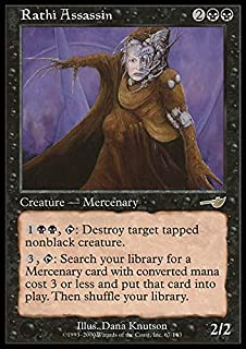Magic: the Gathering - Rathi Assassin - Nemesis