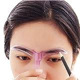 sourcils Pochoir; Mosunx Outil Professionnel de beauté maquillage Toilettage Dessin Blacken Pochoir à sourcils (couleur Randomization)