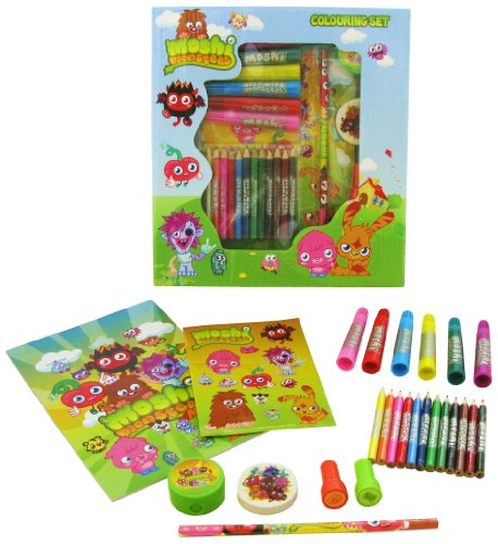 Moshi Monsters Small Colouring Set