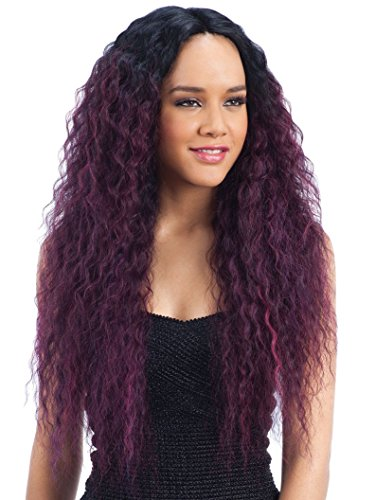 Freetress Equal Synthetic 6 inch Deep Lace Side Part Wig - MAXI (GXRDVIOLET)