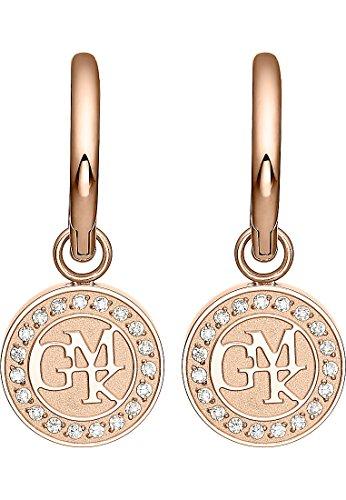 GMK Collection By CHRIST Damen-Creolen Edelstahl 38 Zirkonia One Size Rosé 32002459