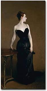 Madame Pierre Gantreu by John Singer Sargent, 16x32-Inch Canvas Wall Art