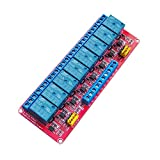 5V Relay Module with Optocoupler Isolation Support High and Low Level Trigger Relay Red Board (8 Channel 5V Relay)