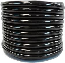 HydroMaxx Flexible PVC Black Vinyl Tubing. BPA Free and Non Toxic, 1/2