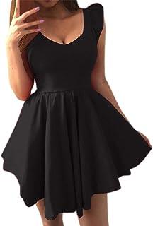 GNYD Elegant Women Spring Summer Clothes,Ladies Long Sleeve Dresses,Fashion Slim Fit V-Neck T-Shirt,Sexy Bodycon Casual Short Dress