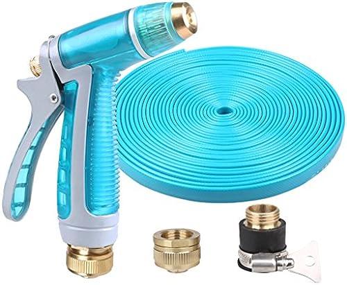 SHI XIANG SHOP Hochdruck-Autowaschanlage Wasserpistole Blau Mehrfachl e Optional A+ ( Größe   30 meters )