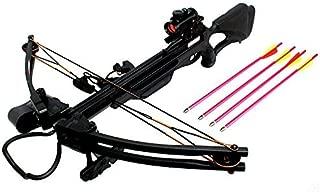 Man Kung 175 LBS Cobra Hunting Crossbow W/Solid Fiber Glass Limb Black