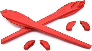 HKUCO - Juego de patas de silicona de repuesto para Oakley Flak 2.0/Flak 2.0 XL Gafas de sol Calcetines de oreja Kit de goma