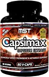 Capsimax Supplement 100mg V Capules, 60 Servings by MST - Clinically Dosed Weight Management, Thermogenic, Appetite Control, Calorie Burning, Metabolic Health, Stimulant Free. BSCG Certified Drug Free