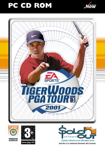 Tiger Woods PGA Tour 2001(PC CD) - 2004 - Very Good Condition