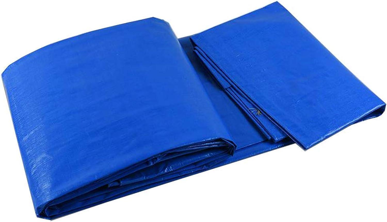 Waterproof Cloth Home Home Home Wasserdichte Plane Shade Sonnencreme Outdoor Kunststoff Regenplane, Blau Weiß (Größe   5  7cm) B07P414ZNY  Nicht so teuer 55dd49