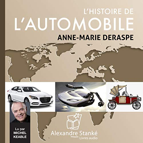 Couverture de L'histoire de l'automobile