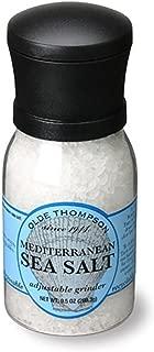 Olde Thompson 4.5 Ounce Mediterranean Sea Salt Grinder with Salt