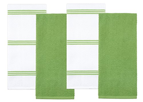 Sticky Toffee Cotton Terry Kitchen Dish Towel - Pack of 4