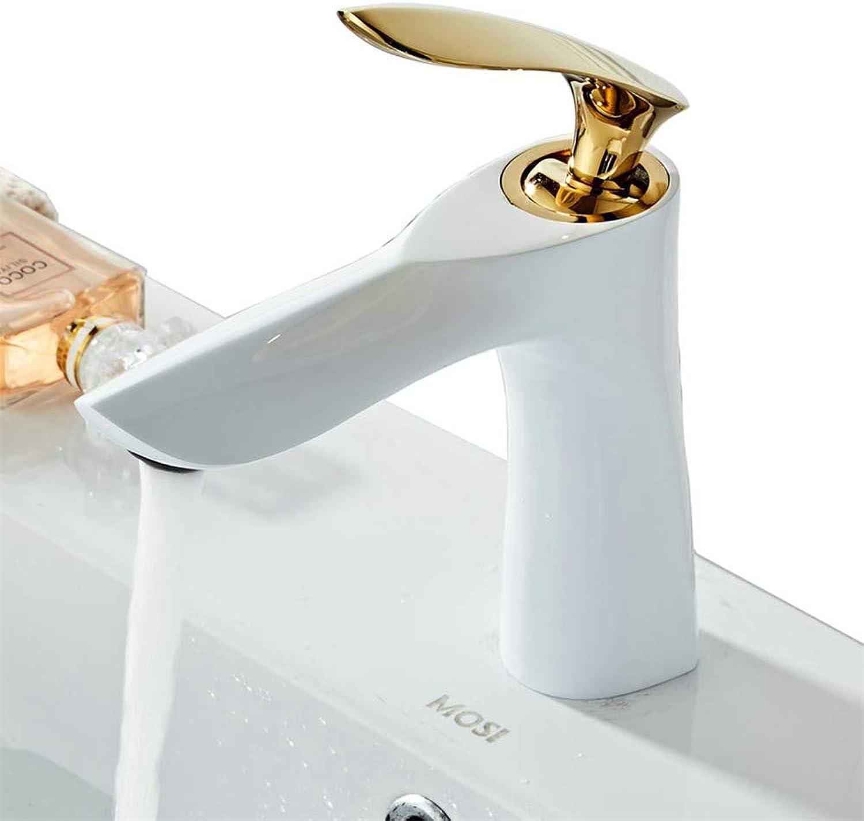Moderner Hahn-Badezimmer-Hahnbassin-Mischer-Hhne Moderner Badezimmer-Hahn-heier und kalter Toiletten-Wannen-Hahn