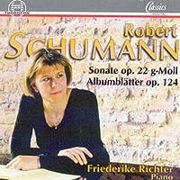 Schumann;Piano Sonata/Album