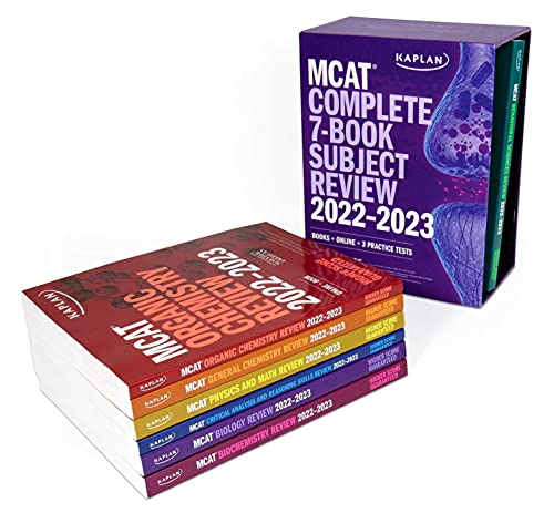 Compare Textbook Prices for MCAT Complete 7-Book Subject Review 2022–2023: Books + Online + 3 Practice Tests Kaplan Test Prep  ISBN 9781506277424 by Kaplan Test Prep