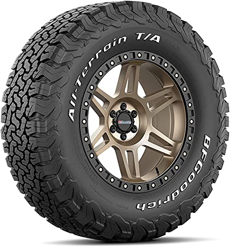 BFGoodrich All Terrain T/A KO2 Radial Car Tire for Light Trucks, SUVs, and Crossovers, LT225/65R17/D 107/103S