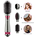 Beauty Shopping [2020 Upgrade] Wirhaut Hot Air Brush, Hair Dryer with Hair Volumizer