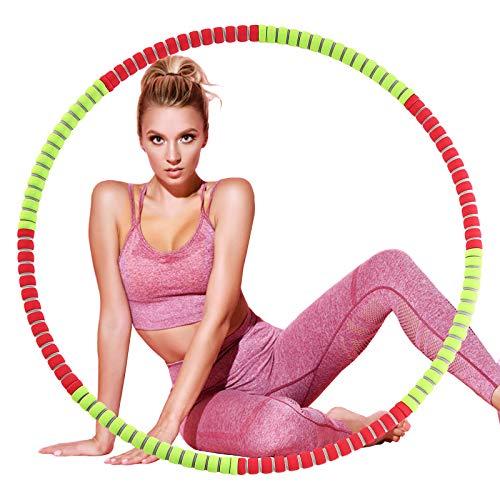 Jeteven Neumáticos de fitness, círculo de fitness para adultos, 8 neumáticos desmontables...
